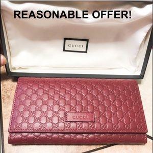 Gucci Microguccissima Margaux Wallet